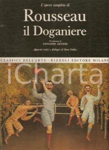 1969 Dora VALLIER Opera completa ROUSSEAU IL DOGANIERE Pref. di Giovanni ARTIERI