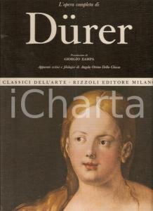 1968 Angela OTTINO DELLA CHIESA Opera completa Albrecht DÜRER *Ed. RIZZOLI