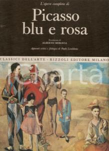 1968 Paolo LECALDANO Opera completa PICASSO BLU E ROSA Pref. di Alberto MORAVIA