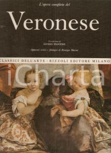 1968 Remigio MARINI Opera completa del VERONESE Prefazione Guido PIOVENE Rizzoli