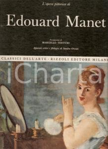 1967 Sandra ORIENTI Opera completa Edouard MANET Prefazione Marcello VENTURI