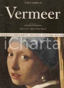 1967 Piero BIANCONI Opera completa VERMEER Prefazione Giuseppe UNGARETTI Rizzoli