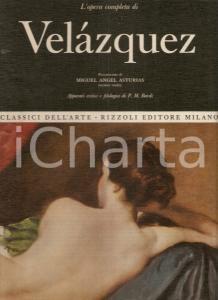 1969 P.M. BARDI Opera completa Diego VELAZQUEZ Prefazione Miguel Angel ASTURIAS