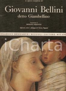 1969 Terisio PIGNATTI Opera completa GIAMBELLINO Prefazione Renato GHIOTTO