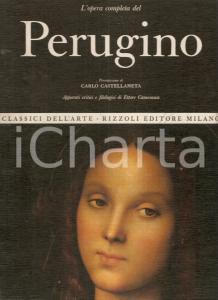 1969 Ettore CAMESASCA Opera completa del PERUGINO Prefazione Carlo CASTELLANETA