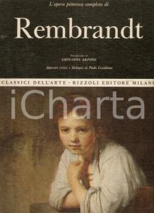 1969 Paolo LECALDANO Opera completa di REMBRANDT Prefazione di Giovanni ARPINO