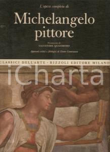 1966 Ettore CAMESASCA Opera completa MICHELANGELO Prefazione Salvatore QUASIMODO