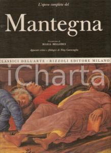 1967 Niny GARAVAGLIA Opera completa MANTEGNA Prefazione Maria BELLONCI *Rizzoli