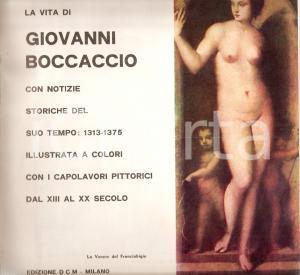 1965 VITA DI GIOVANNI BOCCACCIO con notizie storiche *Edizioni DCM - MILANO