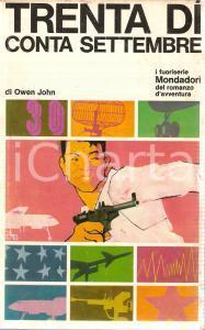 1967 Owen JOHN Trenta dì conta settembre Illustrazione Ferenc PINTER *Mondadori