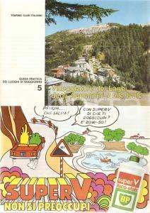 1968 TOURING CLUB ITALIANO Guida luoghi soggiorno 5 APPENNINI *Visco static BP