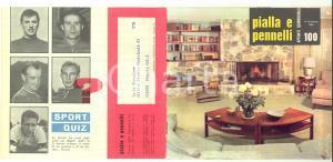 1959 MILANO PIALLA E PENNELLI Appunti quindicinali *Pubblicitario ILLUSTRATO