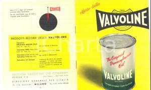 1950 MILANO VALVOLYNE - Original Pennsylvania Oil *Pubblicitario