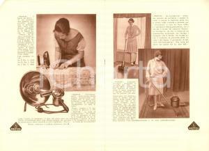 1930 ca COSENZA Società Elettrica BRUZIA Elettrodomestici PROTOS *Illustrato