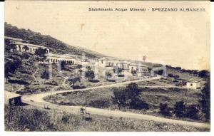 1926 SPEZZANO ALBANESE (CS) Stabilimento Acque Minerali *Cartolina postale FP VG
