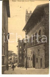 1923 AREZZO Palazzo della CASSA DI RISPARMIO *Cartolina ANIMATA FP VG