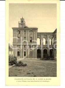 1932 MILANO Università CATTOLICA del SACRO CUORE - Nuovo Palazzo *Cartolina