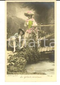1900 ca FRANCE AMOUR Le galant serviteur *Carte postale STEBBING  VINTAGE