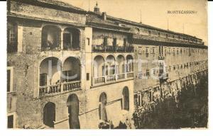 1915 ca ABBAZIA DI MONTECASSINO Veduta esterna *Cartolina postale FP