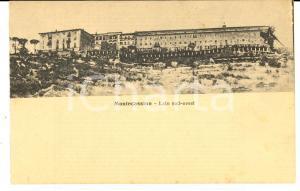 1915 ca ABBAZIA DI MONTECASSINO Veduta dal lato sud-ovest *Cartolina postale FP