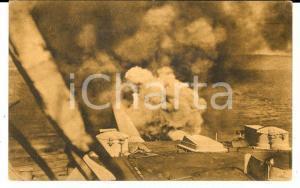 1915 ca WWI PROPAGANDA ITALIA L'esperanto delle nostre Dreadnought *Cartolina