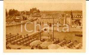 1930 ca MILANO Veduta del LIDO *Cartolina postale animata FP NV
