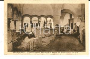 1930 ca BENEVENTO Archivio Storico Provinciale e Museo del SANNIO *Cartolina FP