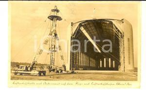 1940 ca WW2 Zeppelin-Luftschiff LZ 129 HINDENBURG - Luftschiffhalle *Postcard