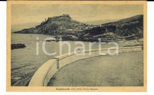 1947 CASTELSARDO (SS) Veduta da PUNTA SPINOSA *Cartolina postale FP VG