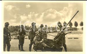 1940 ca WW2 WEHRMACHT - LUFTWAFFE Puntamento *ECHTE Photographie Postcard