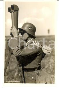 1940 ca WW2 Die WEHRMACHT - Am Scherenfernrohr *VINTAGE Postcard