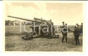 1940 ca WW2 Die WEHRMACHT - LUFTWAFFE Esercitazione *ECHTE Photographie Postcard