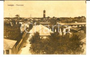 1926 SEREGNO (MB) Panorama del paese *Cartolina postale FP VG