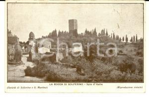 1920 ca SOLFERINO (MN) Rocca - Spia d'Italia *Cartolina postale FP NV