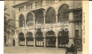 1915 ca MILANO Piazza MERCANTI - Loggia degli OSII * Cartolina ANIMATA FP VG
