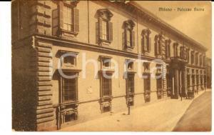 1915 MILANO Palazzo BRERA *Cartolina ANIMATA con carrozza FP