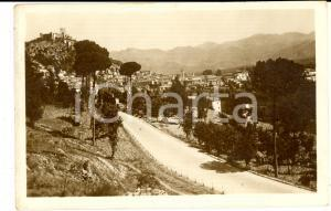 1937 CASSINO (FR) Veduta panoramica *Cartolina postale VINTAGE FP VG