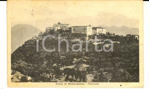 1927 ABBAZIA DI MONTECASSINO (FR) Panorama *Cartolina VINTAGE FP VG