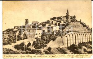 1940 CASTIGNANO (AP) Veduta dal lato sud *Cartolina postale VINTAGE FP VG