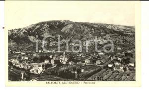 1955 BELFORTE ALL'ISAURO (PU) Panorama del paese *Cartolina FP VG