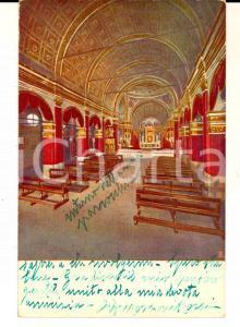 1920 ca MILANO Chiesa di SANTA MARIA presso SAN SATIRO *Cartolina ILLUSTRATA FP