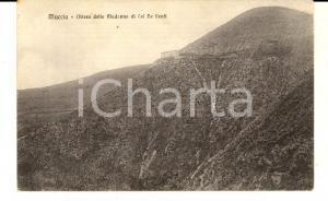 1926 MUCCIA (MC) Chiesa della madonna di COL DE VENTI *Cartolina FP VG