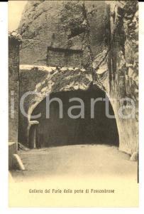 1920 ca Galleria DEL FURLO (PU) Veduta dal lato di FOSSOMBRONE *Cartolina