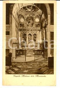 1920 ca MILANO SANT'ANGELO Cappella Madonna della Misericordia *Cartolina FP VG
