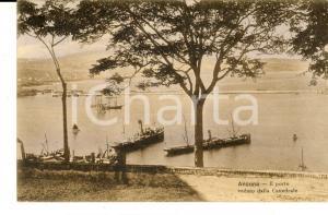 1923 ANCONA Il porto veduto dalla cattedrale *Cartolina postale FP VG