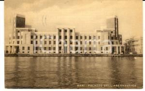 1953 BARI Veduta del Palazzo dell'Aeronautica *Cartolina postale FP