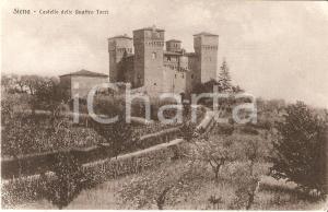 1940 ca SIENA Castello delle Quattro Torri Panorama *Cartolina FP NV