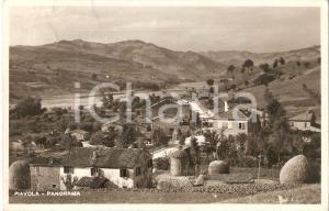 1942 BUTI - PIAVOLA (PI) Panorama del paese *Cartolina FP VG