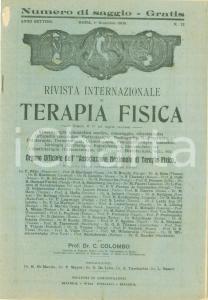 1906 Rivista Internazionale TERAPIA FISICA Numero di saggio Anno VII n. 12