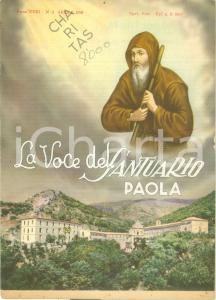 1959 PAOLA (CS) La Voce del Santuario *Rivista mensile anno XXXI n. 4